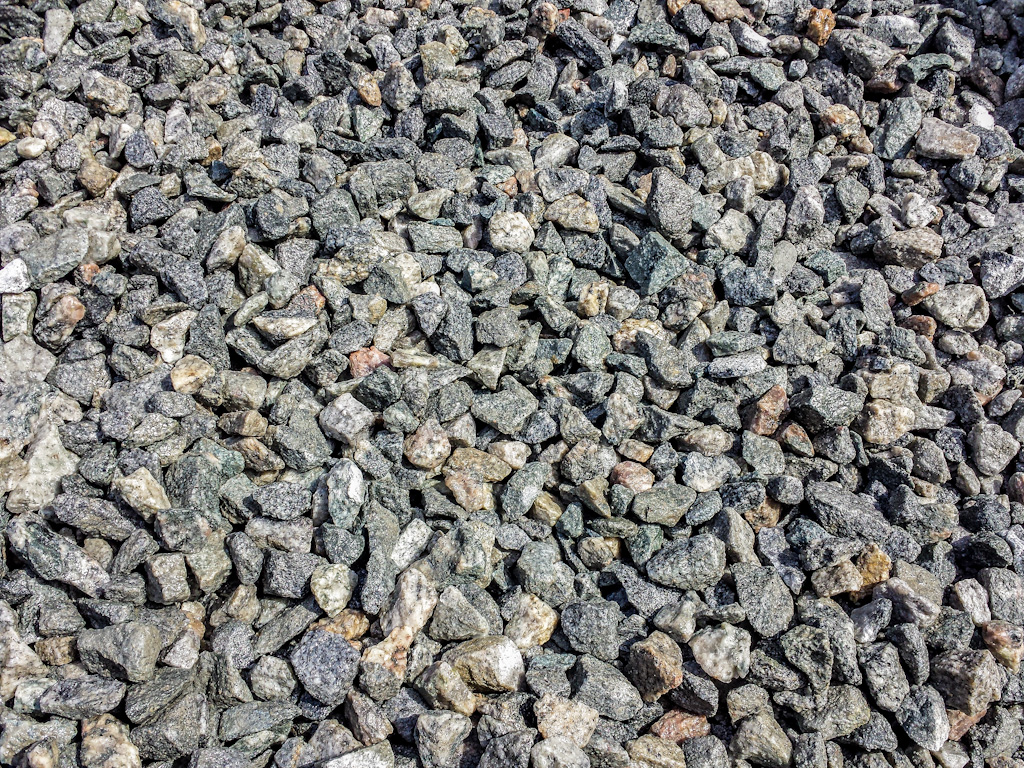 Crushed Granite Gravel : Crushed stone sparta block